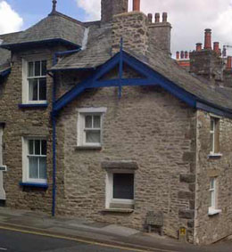 Lime pointing in Kendal, Cumbria