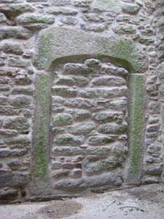 image of blocked up doorway